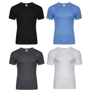 Men's Thermal Half Sleeve Tops, Warm Underwear