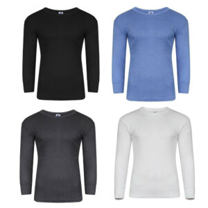 Men's Thermal Full Sleeve Tops, Warm Underwear