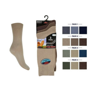 Men's Executive Lycra Cotton, Premium Formal Socks