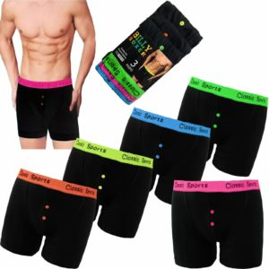 Men's Cotton Neon Boxer Shorts Under Wear