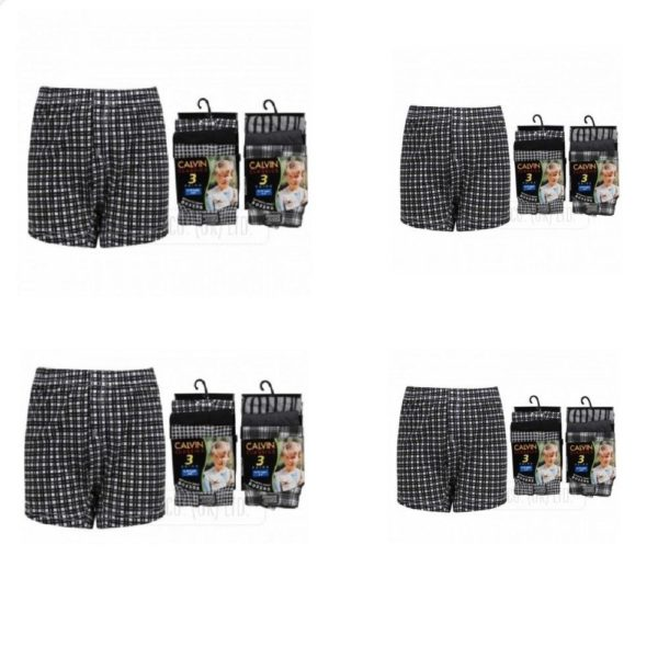 Boys Best Quality Cotton Classic Fancy Boxer Shorts