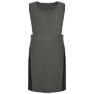 Girls Premium Quality Bib Pinafore School Uniform UK Made
