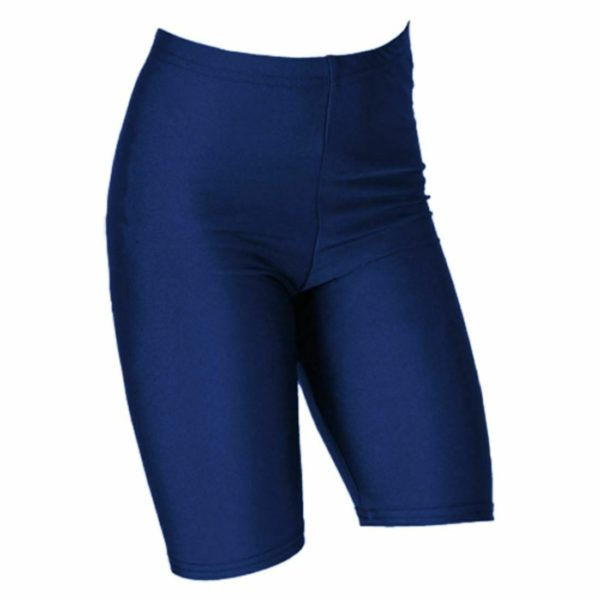 Girls cycling ,Dance and Swimming Lycra shorts in navy