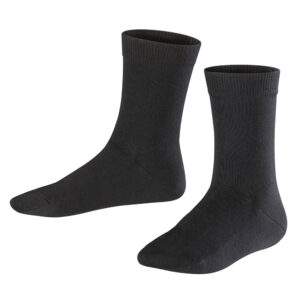 Girls & Boys Unisex Plain Cotton Mix School Ankle Socks