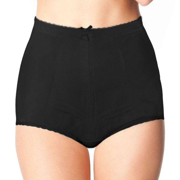 Ladies / Women Tummy Tuck Bum Lift Firm Control Body Shape Briefs in black