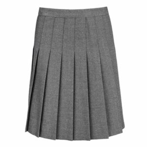 Girls All Round Knife Pleat School Uniform Skirt (UK Made)