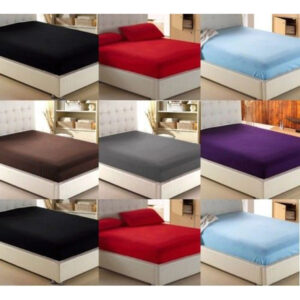 Best Quality Easy care Long Lasting Polly cotton Fitted Sheets & Pillow Cases
