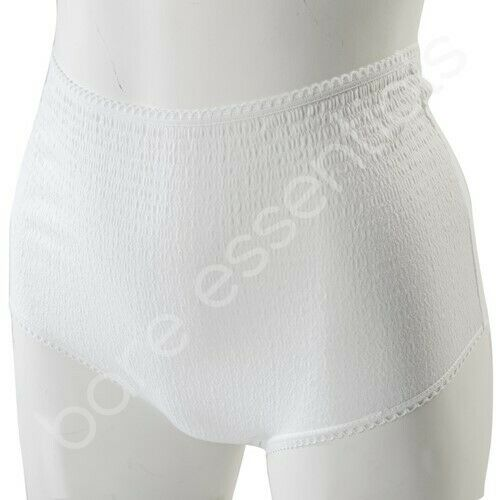 Ladies angle touch crinkle lace brief