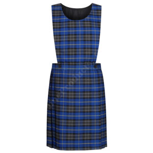 Girls Tartan Pinafore School Uniform Dress