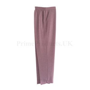 Ladies Smart Half Elastic Waist Pull On Trouser Bottom