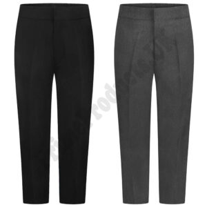 Boys Sturdy Plus Fit School Uniform Trouser Teflon Coated
