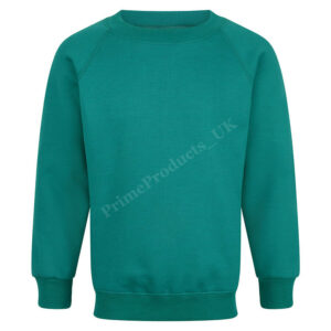 Boys/Girls/Unisex School Jumper Crew Round Neck Sweatshirt Uniform