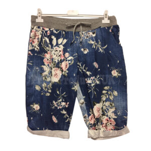 Ladies Summer Casual Elasticated Waist Shorts