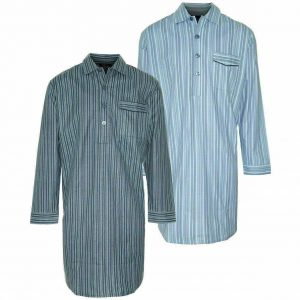 Men's Champion Brushed Cotton Striped Nightshirt