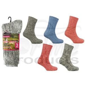 Women's Wool Blend Mountain Thermal Socks
