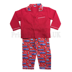 Boys Nightwear Pyjamas Top Bottom Set