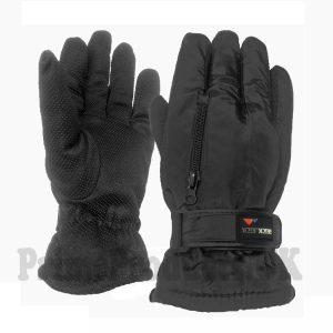 Men's Winter Sport Black Glove With Gripper