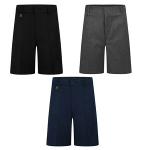 Boys Zip & Clip Teflon Coated School Uniform Short