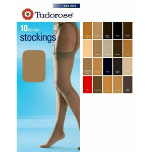 Ladies 10 Denier Smooth Knit Sheer Stockings