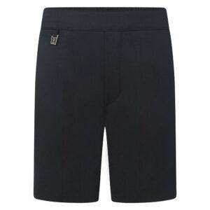 Boys Pull Up Elasticated Back School Uniform Short