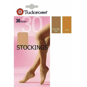 Ladies 30 Denier Smooth Knit Sheer Stockings