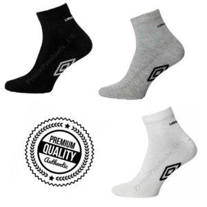 Men's Premium Quality Quarter Length Trainer Socks