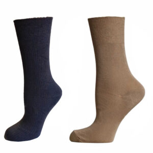 Men's Diabetic Plain Non Elastic Bamboo Socks (MENSE044NE)