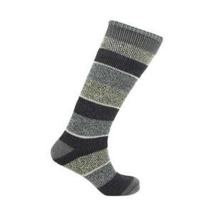 Men's Heat Machine Thermal 2.3 Tog Long Stripe Socks