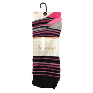 Ladies Assorted Ankle Casual Socks