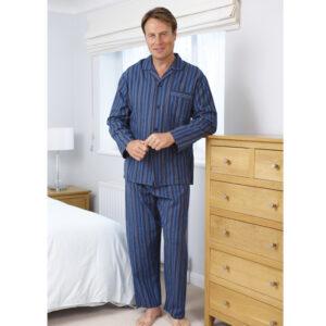Men's Champion Brushed Cotton Long Sleeve Pyjama Set